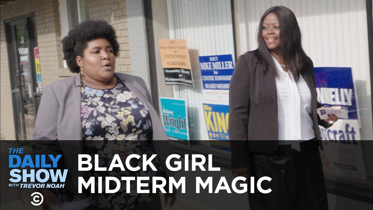 Black Girl Midterm Magic   The Daily Show