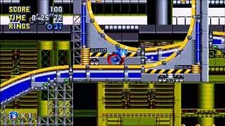 "Sonic Mania (PC) - Chemical Plant 1 Sonic: 32""96 (Speed Run)"