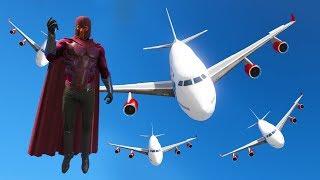 Zrzuciłem samoloty na LOS SANTOS (GTA na modach #4) | MAGNETO MOD