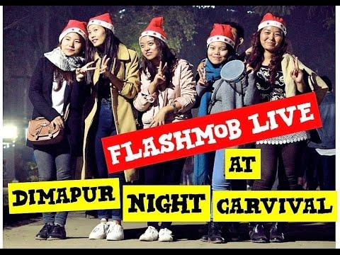Flashmob at Dimapur Night Carnival