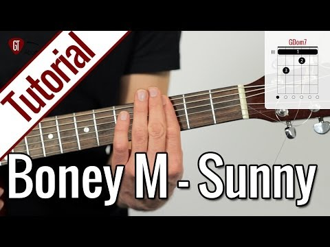 Boney M. (Bobby Hebb) - Sunny | Gitarren Tutorial Deutsch