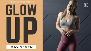GLOW UP CHALLENGE  Day 7: No Repeats HIIT Workout