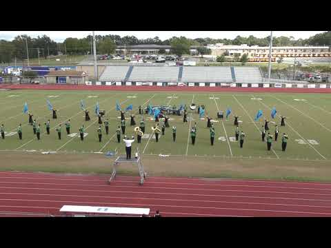 Murray County High School Band at Warrior Invitational 8-20-18
