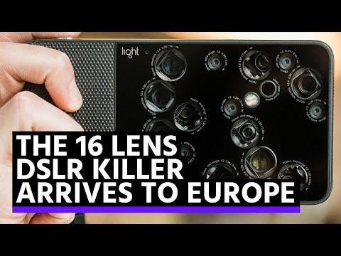 The 16 lens DSLR killer arrives to Europe