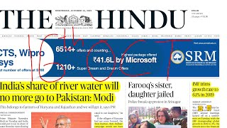 The Hindu Newspaper Analysis 16th October 2019  Daily Current Affairs