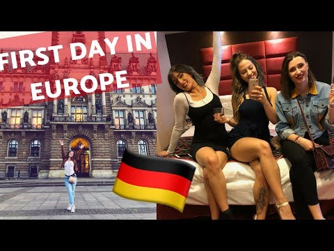 MY FIRST TIME IN EUROPE | Ashley Resch