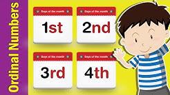 Learn Ordinal Numbers in English | Fun Kids English