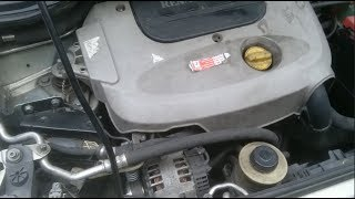 Remplacement pompe à eau Renault scenic 1.9L DTI