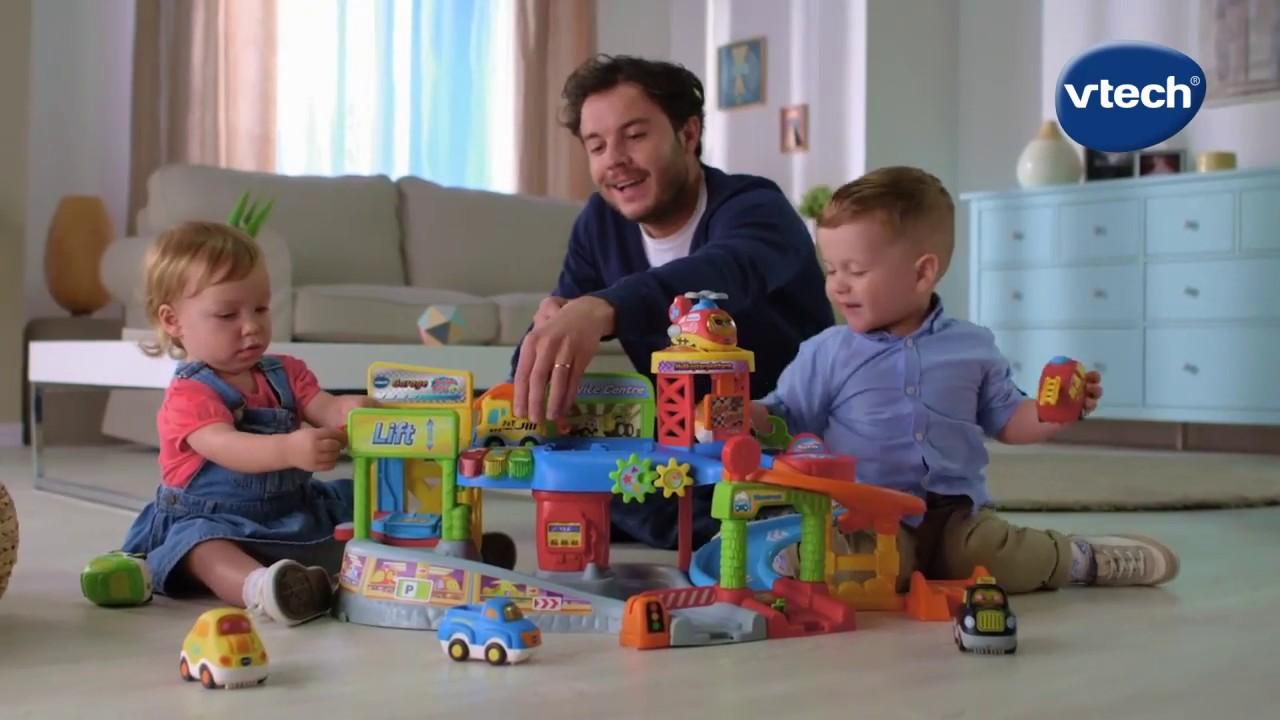 Garage Toet Toet : Vtech toet toet auto s garage youtube