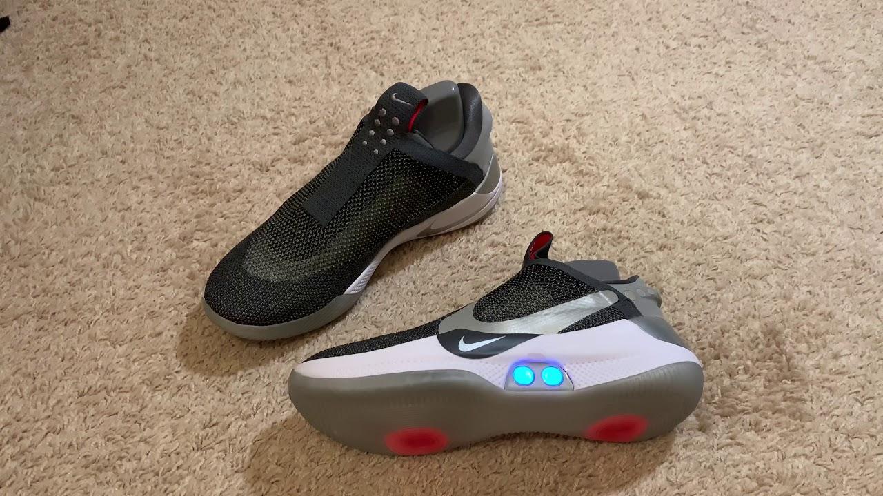 Nike Adapt BB Siri Control - YouTube