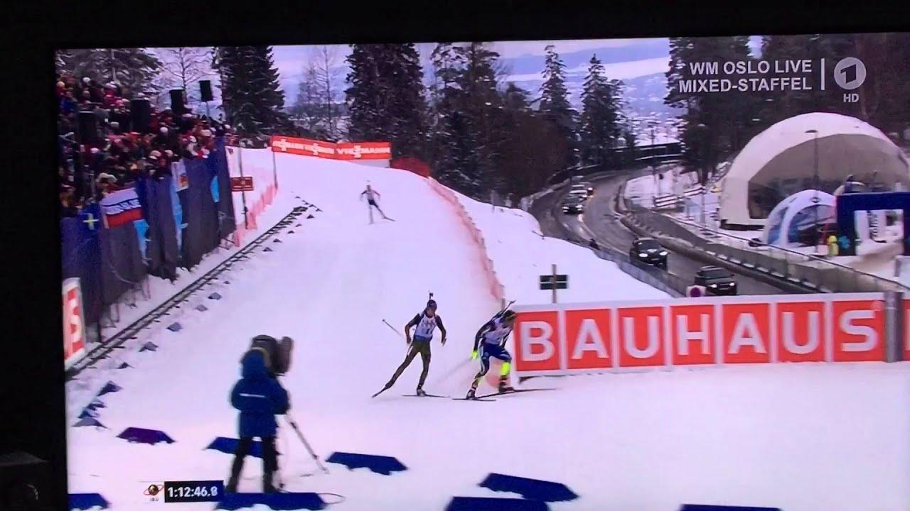 Biathlon Wm Mixed Staffel