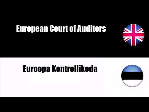 ENGLISH ESTONIAN   Court of Justice of the European Communities