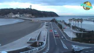 この映像は江の島の夜明け、1時間39分の映像を20倍速で編集 4分58秒で再...