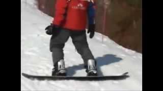Урок 3  Видео как научиться кататься на сноуборде