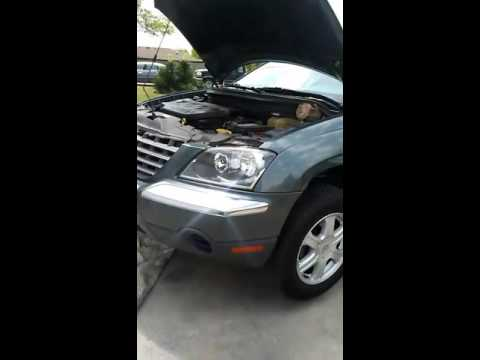 2007 chrysler pacifica motor mount replacement