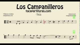 Los Campanilleros Sheet Music for Viola
