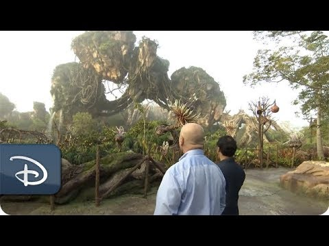 Na'vi Language Creator Paul Frommer Visits Pandora - The World of Avatar