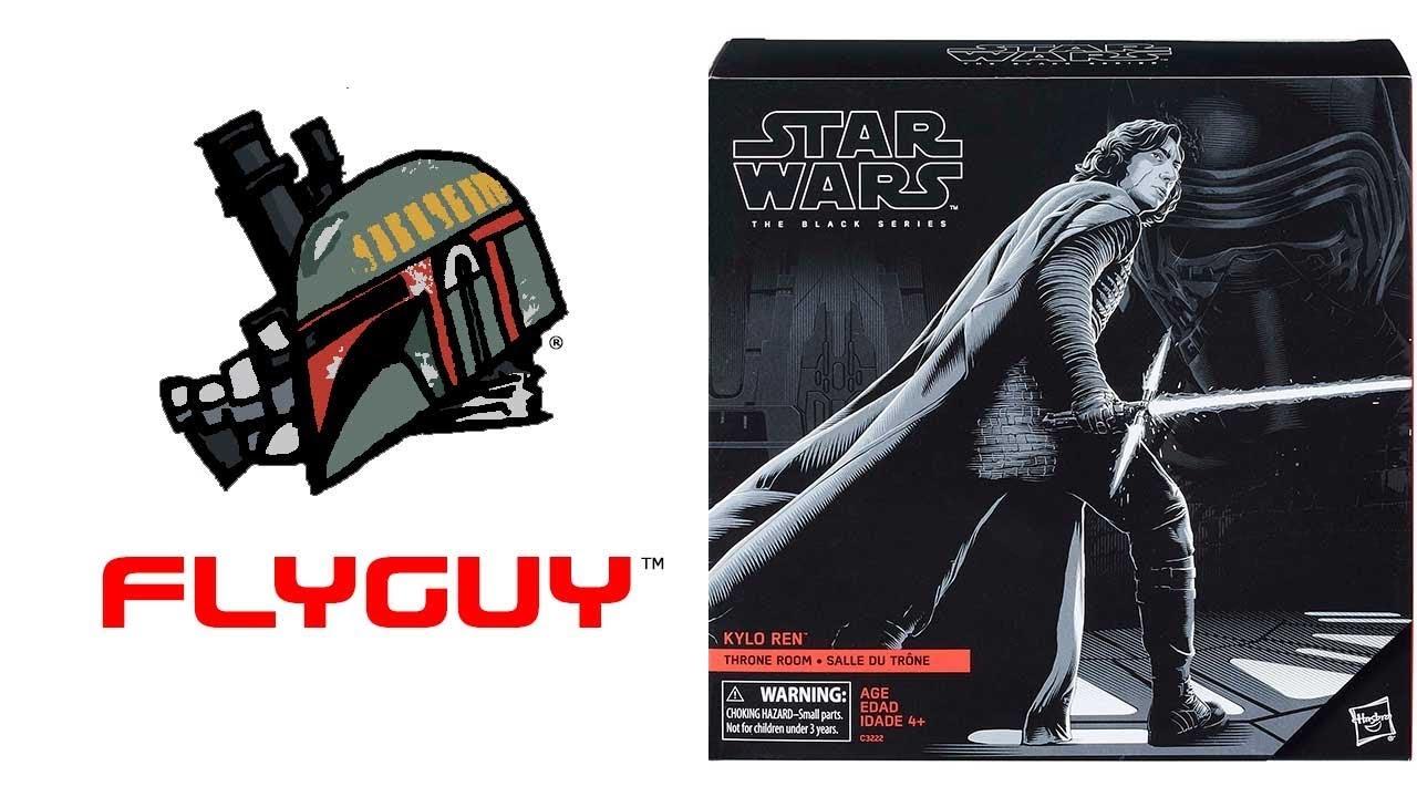 KYLO REN THRONE ROOM Star Wars Black Series EXCLUSIVE last jedi NEW ep8 figure