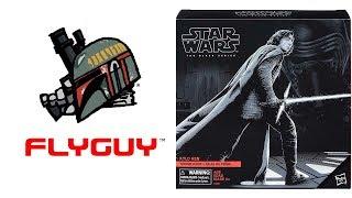 "Star Wars Black Series 6"" Kylo Ren Walmart Exclusive The Last Jedi Action Figure Review | By @FLYGUY"
