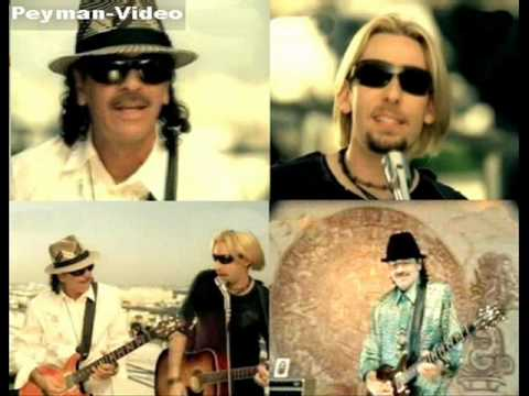 Nickelback ft. Santana-Into The Night