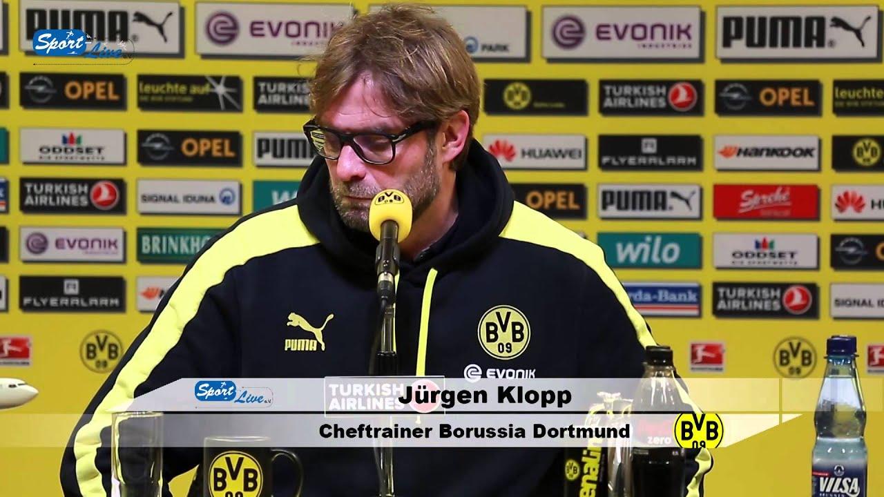 BVB Pressekonferenz vom 7. Dezember 2013 nach dem Spiel Borussia Dortmund gegen Bayer 04 Leverkusen