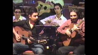 Hoora Guitar Orchestra: Emrooz Tamam Mishavam (Today I'll be Finished)- Nima Salami and Arash Bahram