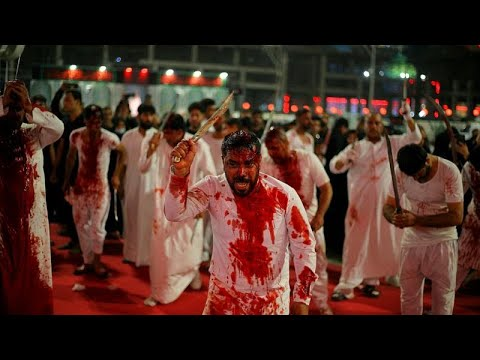 Hundreds of thousands of pilgrims thronged for the Shiite ...