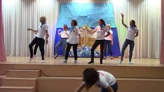 Массовый танец (флешмоб) - Сиса - сосиса,  Студенты ЧПК №1, лето 2017