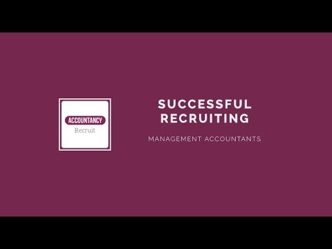 Management Accountant Recruitment: Attracting Talented MAs - Accountancy Recruit