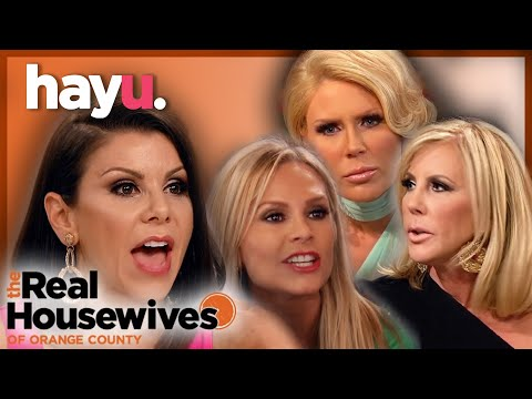 Best Orange County Fights! | The Real Housewives of Orange County