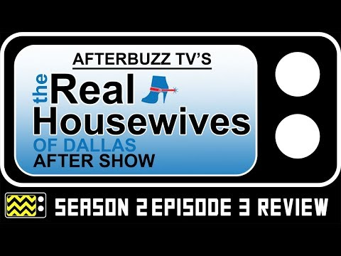 Real Housewives of Dallas Season 2 Episode 3 Review w/ Stephanie Hollman | AfterBuzz TV