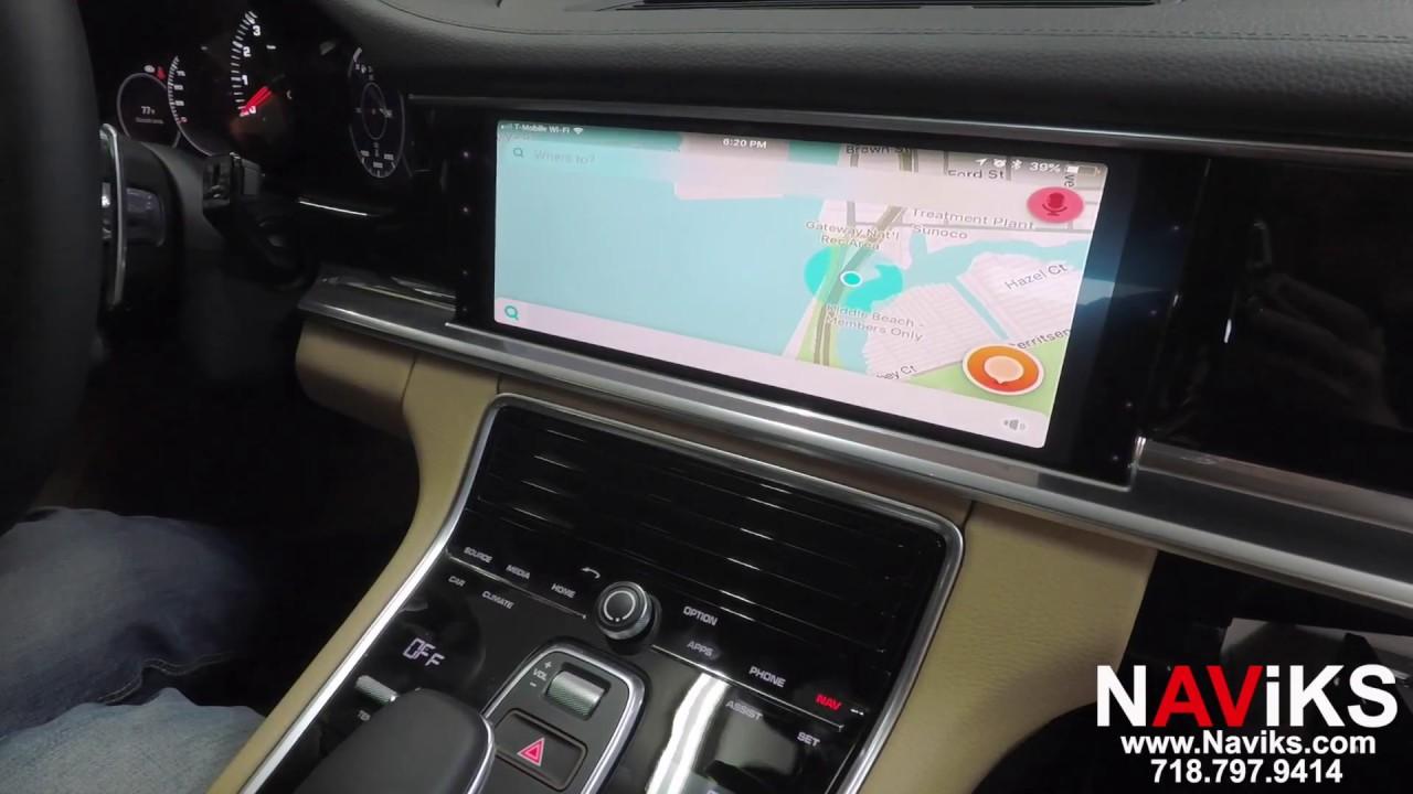 2018 Porsche Panamera 971 PCM 4 1 NAViKS HDMI Video Interface Add:  Smartphone Mirroring