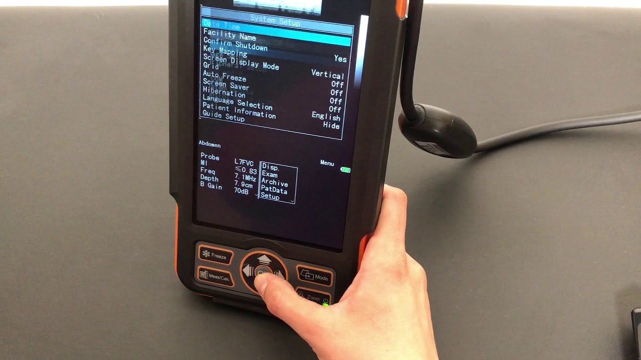 Turning Grid On for Meat Grading with Siui CTS-800