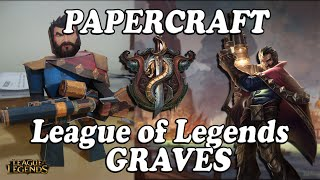 League of Legends - Papercraft | Graves