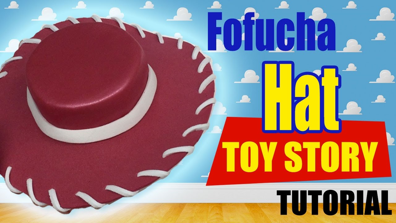 Sombrero Vaquero Fofucha Jessie Toy Story - Cowboy Hat Jessie Toy Story -  YouTube e7b5ee94d8f