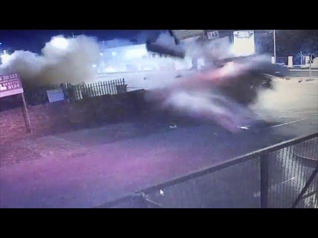 Audi TT Crash in Rivonia, Sandton