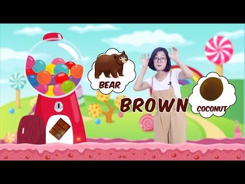 Bé học Tiếng Anh về các Màu sắc cơ bản sinh động cùng cô Jenny TuAnh - Chuồn Chuồn TV 💖💖💖