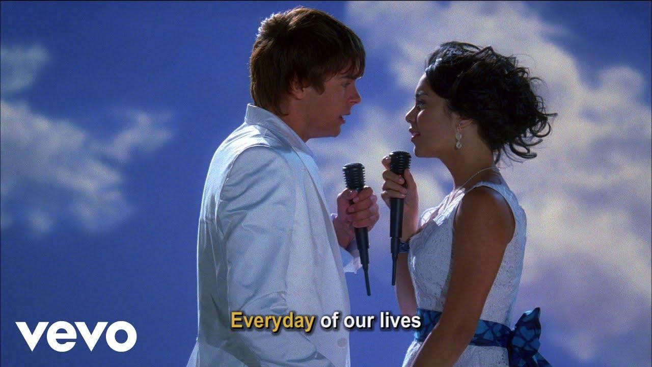 High School Musical 2 Cast - Everyday (Disney Channel Sing Along)
