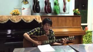 Bài hát Gõ Cửa Trái Tim đàn hát dạo trên cùng một cây guitar cưc kỳ chất !
