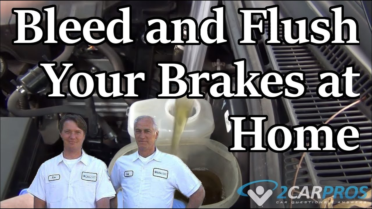 How to Bleed and Flush Brakes in Under 20 Minutes