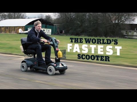 This Insane Inventor Built The World's Fastest Mobility Scooter | Colin Furze