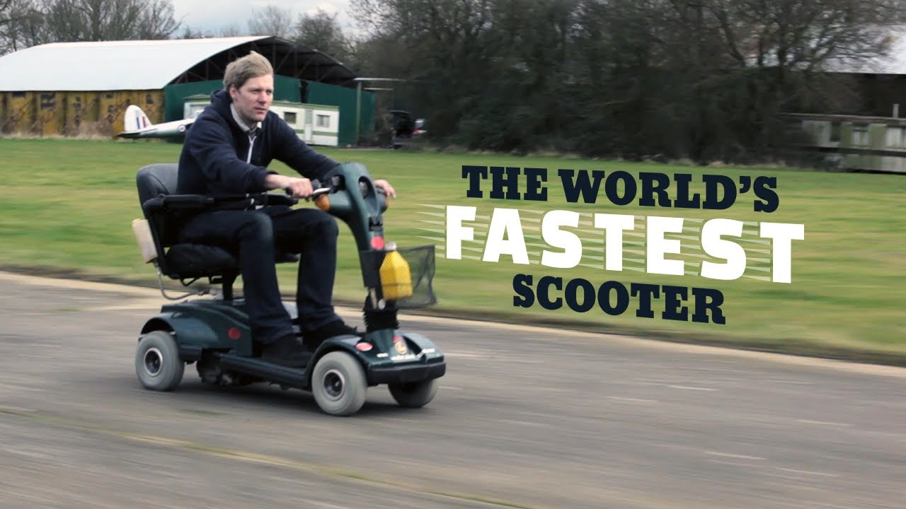 This Insane Inventor Built The World 39 S Fastest Mobility