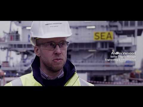 ENGIE Solutions: Offshore substation construction