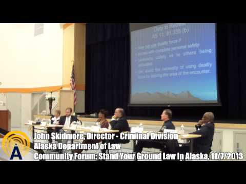 Community Forum: Stand Your Ground Law in Alaska, Part 1