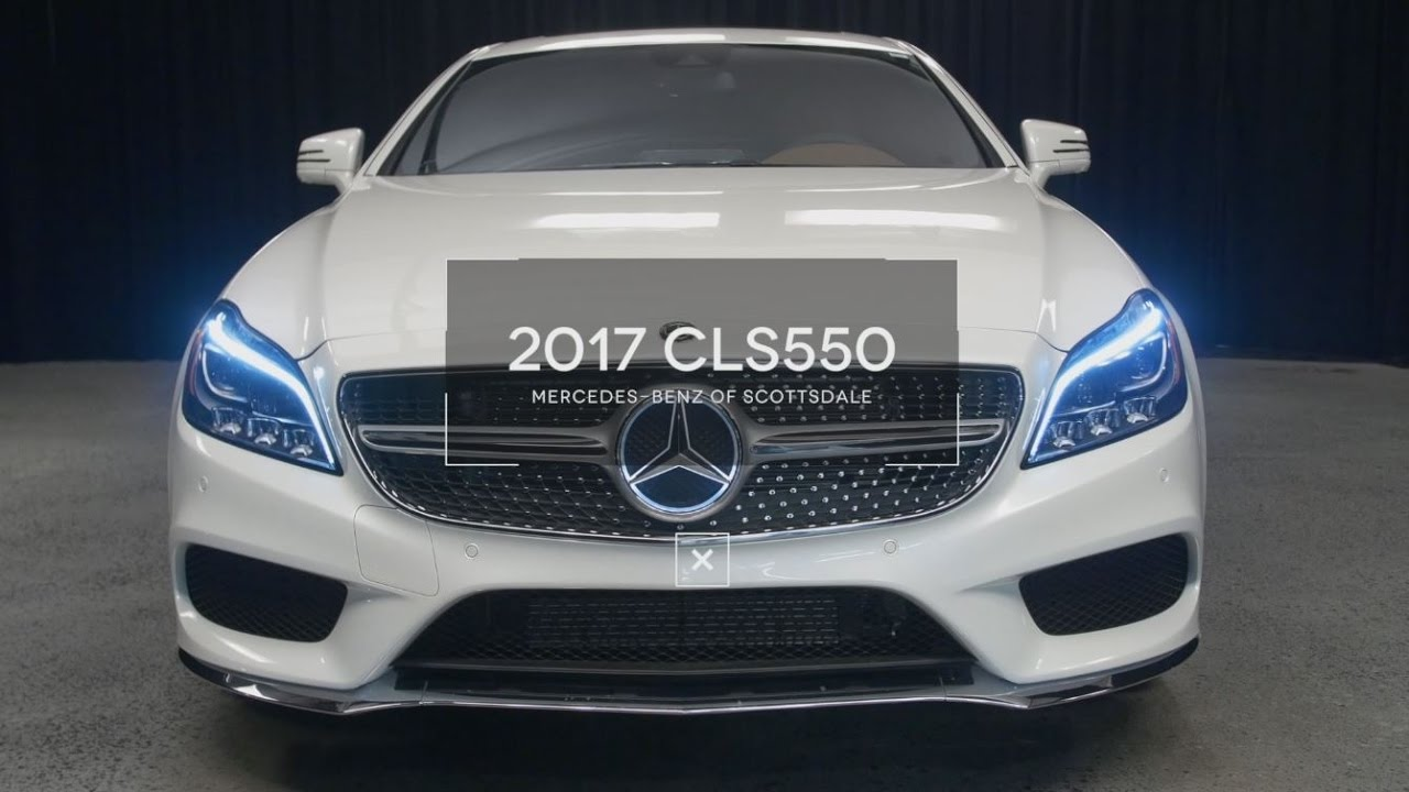Inside Outside 2017 Mercedes Benz Cls 550 From Of Scottsdale