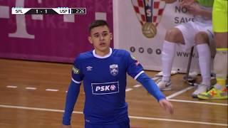 SPLIT vs USPINJAČA GIMKA 2:3 (polufinale, Hrvatski nogometni kup u malom nogometu 19/20)