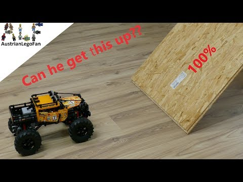 Can the Lego Technic 42099 4x4 X-Treme Off Roader get this up??