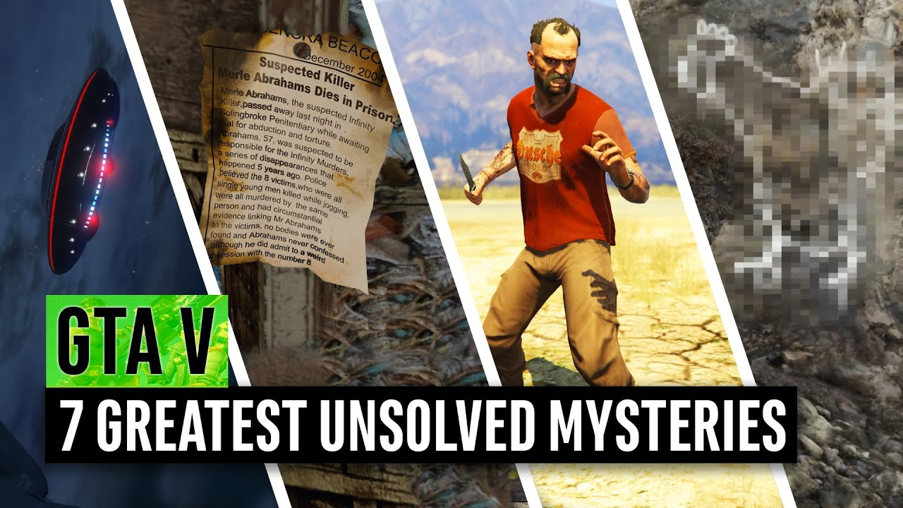 Grand Theft Auto 5 | 7 Greatest Unsolved Mysteries in 2020 (GTA Online)