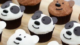 WE BARE BEARS CUPCAKES - NERDY NUMMIES thumbnail
