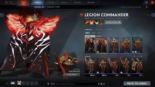 Dota 2 TI6 Legacy of the Fallen Legion (Quest reward)